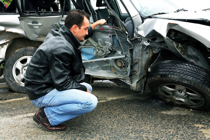 Who is liable for a multi-car accident?